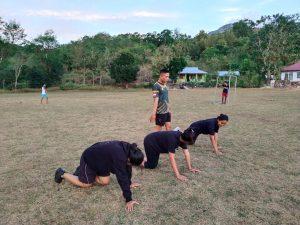 Wujudkan Keinginan Menjadi Prajurit TNI, Satgas Yonif 742 Berikan Pembinaan Anak Perbatasan