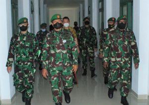 Pangdam XVIII/Kasuari Resmikan Rusun Di Kompleks Makodam