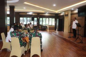 Pangdam XVII/Cenderawasih Terima Kunjungan Kerja Ketua KONI Pusat