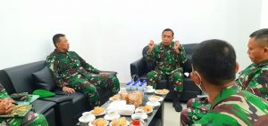 Kunjungan Silaturahmi Kadislitbangad Kepada Pangdam IV/Diponegoro Bahas Percepatan Sertifikat Lahan Lapangan Tembak Ambal Kebumen