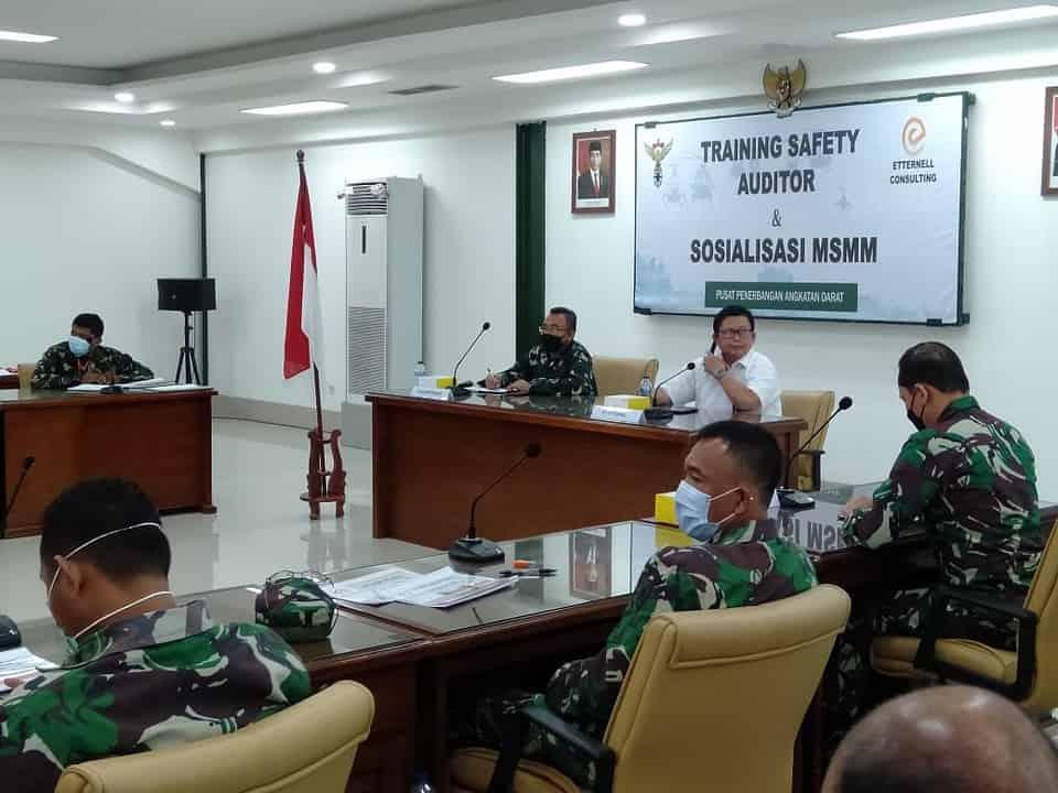Personel Puspenerbad Terima Pembekalan Safety Auditor Training dan Sosialisasi MSMM