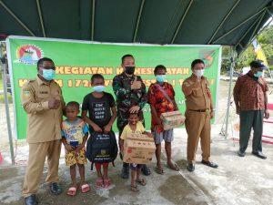 TNI Bersama BKKBN Tingkatkan Pelayanan KB Kesehatan di Wilayah Perbatasan