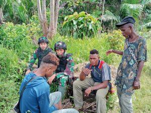 Satgas Yonif 403 Ajak Pemuda Perbatasan Jauhi Narkoba dan Miras