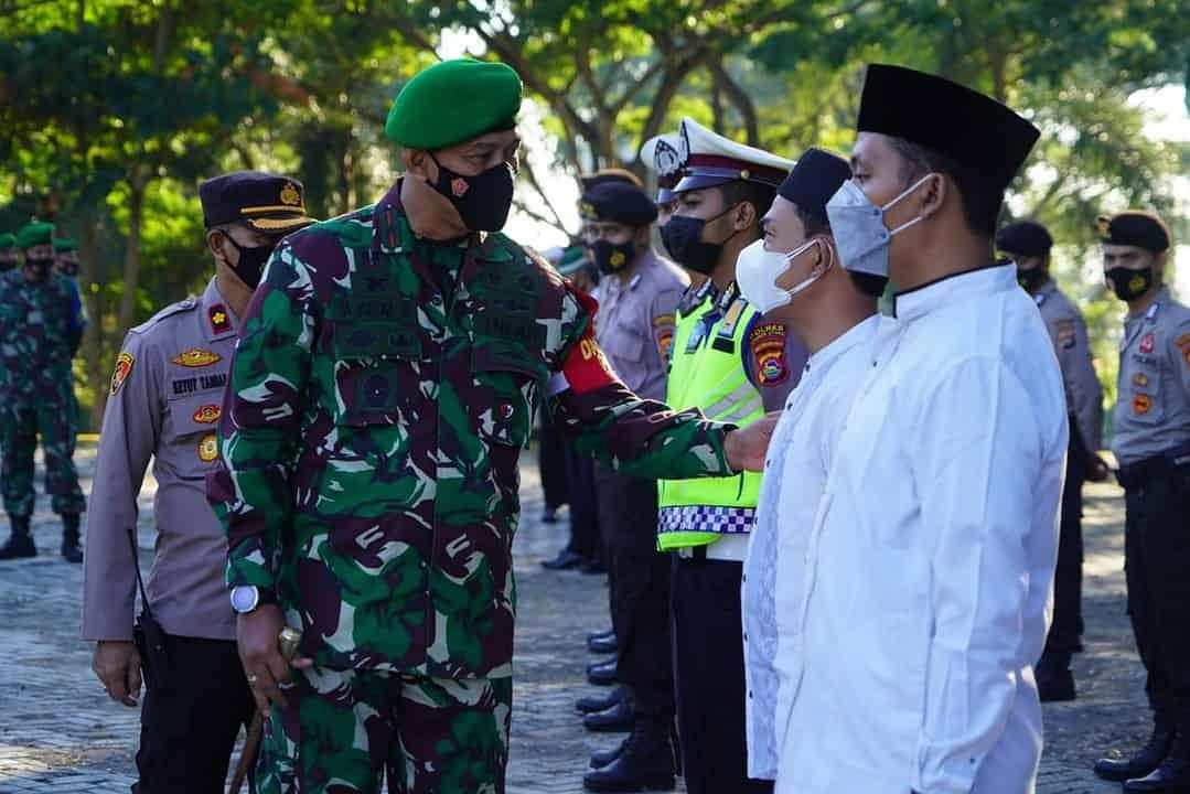Korem 162/WB Gelar Apel Pengamanan Kunjungan Putri Wapres RI