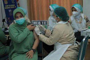 Kodam I/BB Gencarkan Vaksinasi Kepada KBT dan PNS Kodam I/ BB