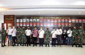 Rencana Bangun Pertashop di Wilayah Papua, Kepala Pertamina Cabang Papua Temui Pangdam XVII/Cenderawasih