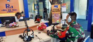 Satgas Yonif 403 Ajak Masyarakat Bersinergi Membangun Papua