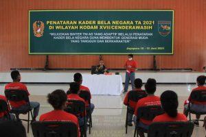 Resmi Dibuka, 250 Siswa SMA di Jayapura Ikuti Penataran Kader Bela Negara