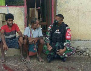 Melalui Komsos, Satgas Yonif 512/QY, Bangun Suasana Kondusif di Perbatasan Papua