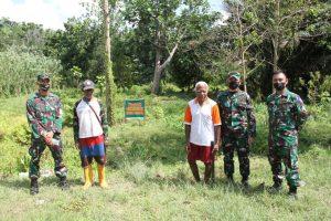 Korem 172/PWY Bersama Tim Wasev Kodam XVII/Cenderawasih Tinjau Lokasi Pembangunan Kodim Keerom