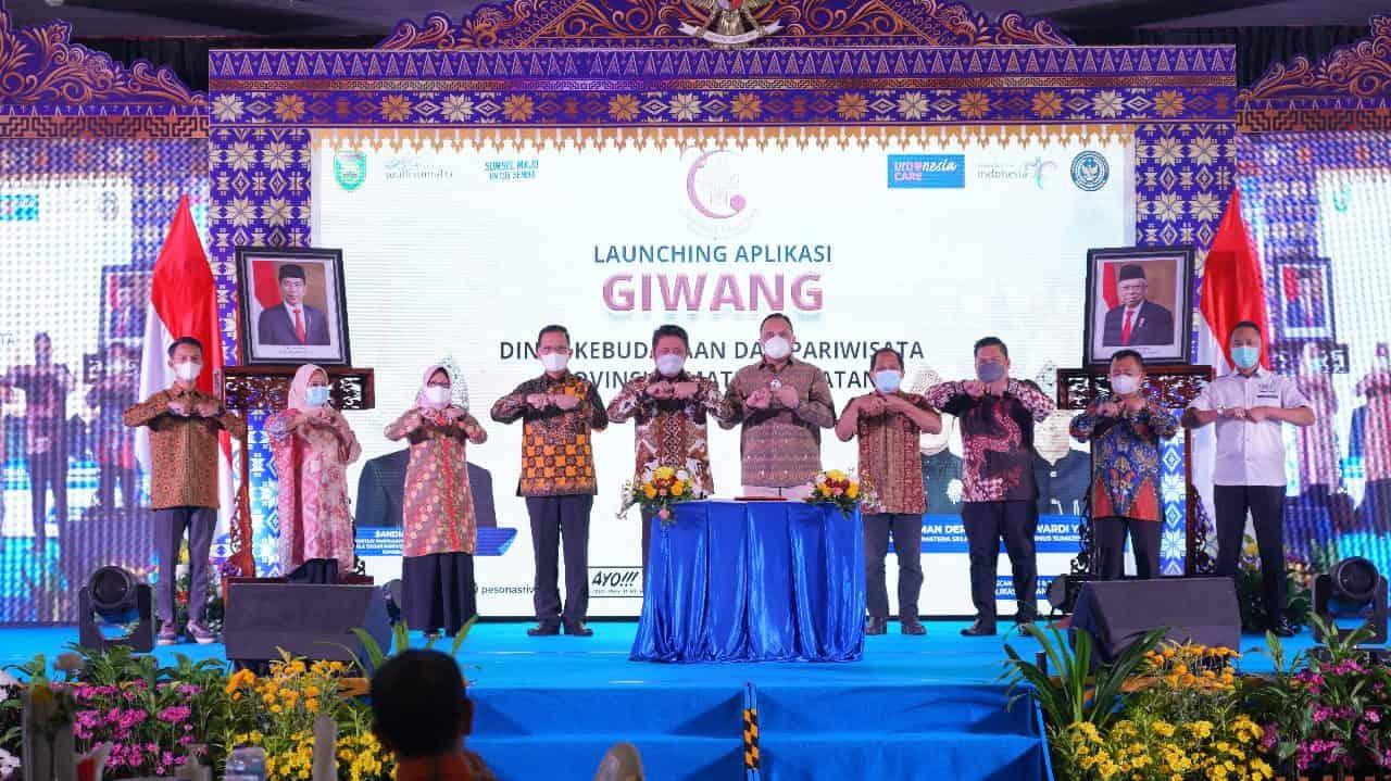 Kapendam II/ Swj Hadiri Launching Aplikasi Giwang