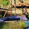 Manfaatkan Lahan Kosong, Satgas Yonif 403 Budidaya Ikan Lele di Perbatasan RI-PNG