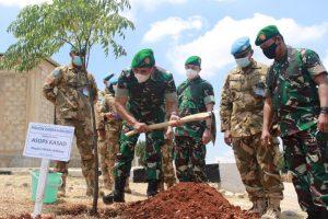Asops Kasad Kunjungi Markas Satgas Indobatt XXIII-O UNIFIL di Lebanon Selatan