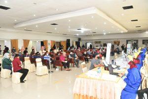 Pangdam II/Sriwijaya Bersama Forkopimda Tinjau Lokasi Vaksinasi Covid -19 Massal