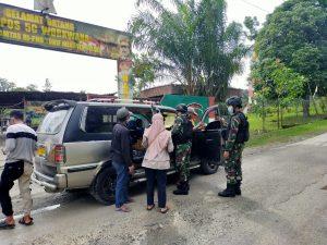 Jaga Stabilitas Keamanan, Satgas Yonif 512 Gelar Pemeriksaan Rutin di Perbatasan Papua