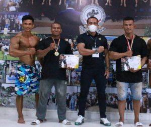 Atlet Binaraga Binaan Yonif 126/KC Raih Berbagai Prestasi Pada Selekda PBFI Sumut