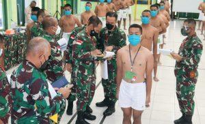 Pangdam XVII/Cenderawasih Pimpin Sidang Parade Calon Taruna Akmil TA 2021