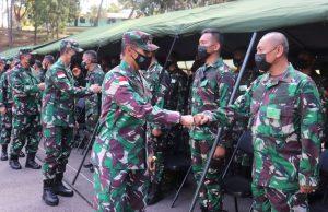 Pangdam XVII/Cenderawasih Buka Pembekalan Personel Satuan BKO Kodim Persiapan