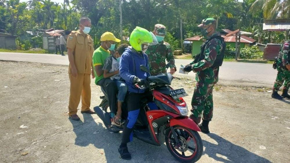 Bersama Pemda, Satgas Yonif 512/QY Tekan Angka penyebaran Covid-19 di Tapal Batas Papua