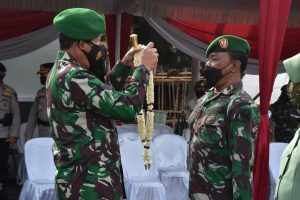 Puncak Peringatan HUT ke-40, Korem 044/Gapo Wisuda 77 Purnawira Prajurit TNI