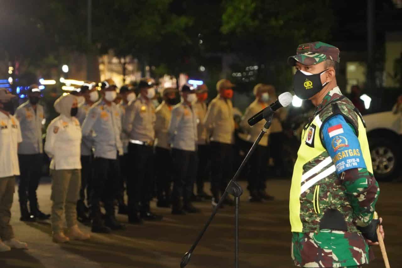 Pimpin Apel Patroli, Danrem 162/WB : Lakukan Imbauan Kepada Masyarakat Dengan Humanis