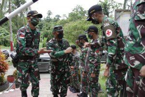 Pos Satgas Pamtas RI-PNG Layani Kesehatan Masyarakat Sampai Dengan Rawat Inap Sementara