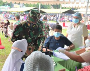Kasdam I/BB; Ajak Mereka Yang Belum Divaksin Untuk Segera Vaksin
