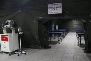 Instalasi Rumah Sakit Lapangan Modern RSPAD Mulai Beroperasi
