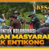 Sorgum, Bentuk Kolaborasi TNI dan Masyarakat Dayak Entikong | KESATRIA BANGSA Part. 2