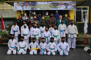 Kadisjasad Resmikan Gedung Dojo Karate Vira Prakasa Yudha Disjasad TNI AD Sawa Dojo