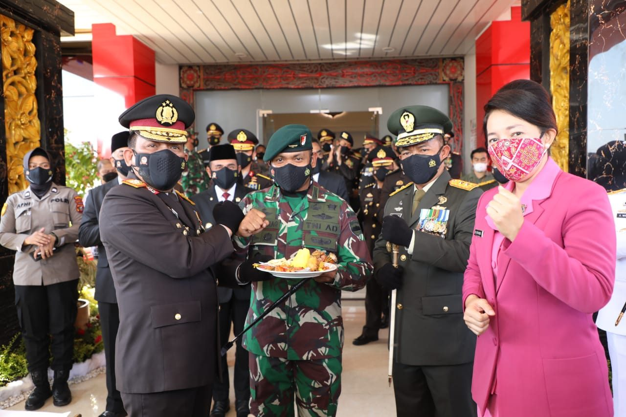 Pangdam I/B : Dirgahayu Ke 75 Kepolisian Republik Indonesia