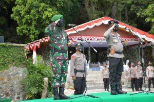 Pangdam I/BB dan Kapoldasu; Tutup Latihan dan Tradisi Pembaretan Prajurit Yudha Wastu Pramukha