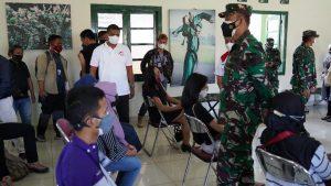 Danrem 061/SK Tinjau Vaksinasi Massal, Libatkan Himpunan Alumni IPB dan Festival Merah Putih