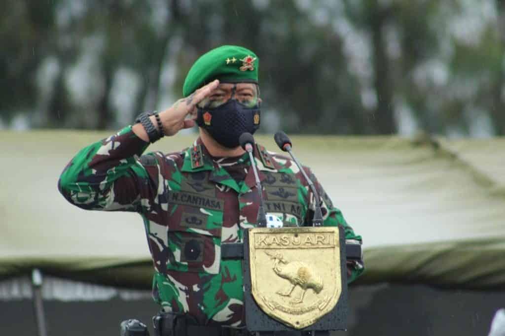 Pangdam XVIII/Kasuari : Saya Bangga, Kalian Adalah Pelaksana Pertempuran di Garda Depan