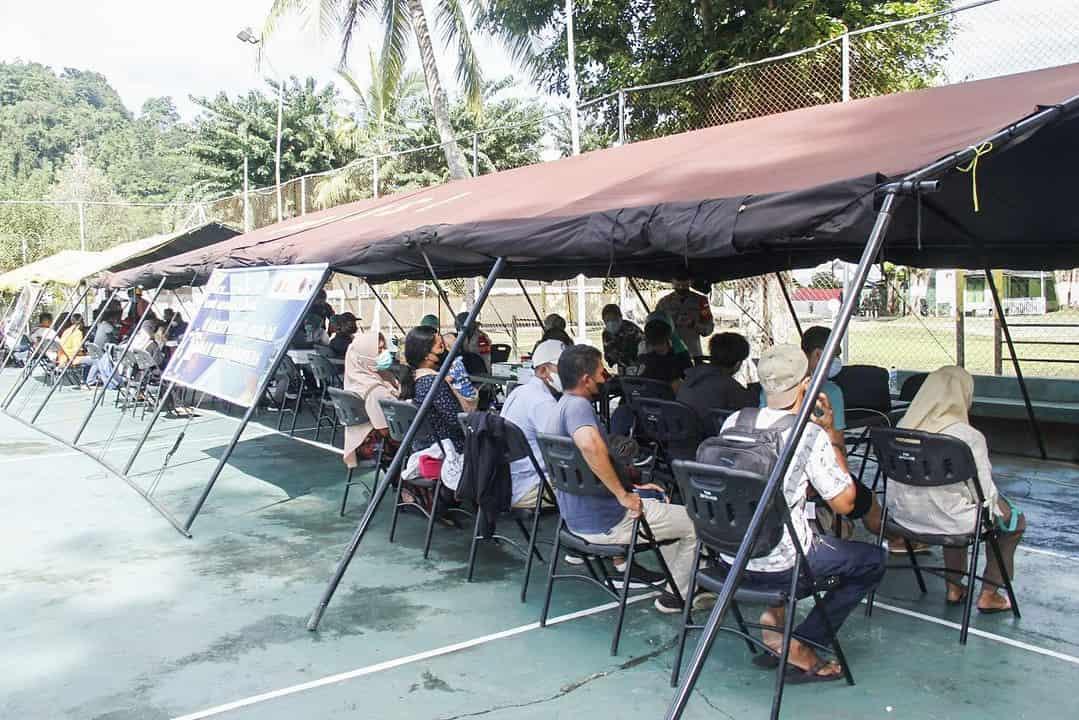 Sinergitas TNI – Polri Beraama Instansi Terkait Gelar Serbuan Vaksinasi