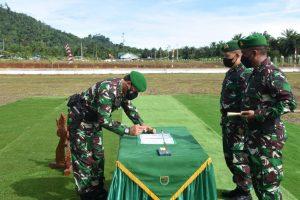 Pangdam XVIII/Kasuari Pimpin Serah Terima Jabatan Danyonif 761/KA