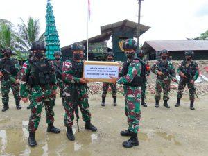 Cek Kesiapan Akomodasi PON XX Dan Satuan TNI Yang Betrugas, Pangdam XVII/Cenderawasih Kunjungan ke Timika