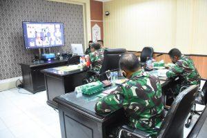 Rapat Dengan KPU, Pangdam XVIII/Kasuari: TNI Siap Membantu Pelaksanaan Pemilu di Papua Barat