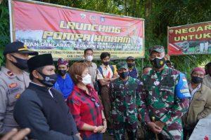 Danrem 162 Launching Tahap II Pompa Hidram di Lombok Tengah