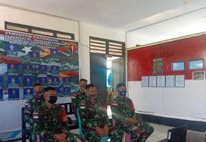 Satgas Yonarmed 6/3 Gelar Vicon Apel Jajaran Danpos