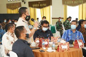 Korem 162/WB Jalin Silaturahmi Dengan Aparat Pemerintah, Bangun Imunitas Bangsa Untuk NKRI