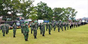 Apel Gabungan Pengetatan PPKM Darurat, Pangdam XVIII/Kasuari Ingatkan Papua Barat Masuk Status Waspada