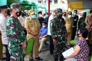 Pangdam I/BB; Minta Masyarakat Tetap Disiplin Menjalankan Protokol Kesehatan dan Segera Divaksin Bagi Yang Belum