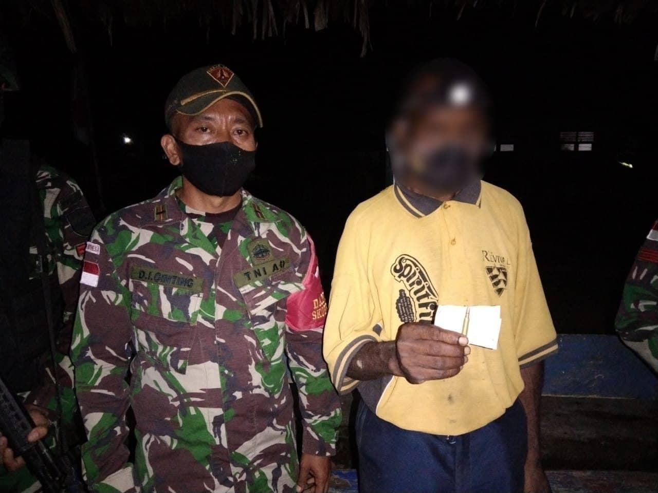Satgas Yonif 131 Amankan 14 Pelintas Batas Ilegal Asal PNG