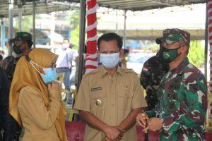 Pangdam XVII/Cenderawasih Tinjau Kesiapan Vaksinasi Massal Bagi Pelajar SMP dan SMA di Jayapura