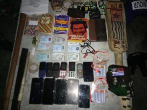 9 Orang Diduga Anggota TPNPB-OPM Diamankan Satgas Yonif 131