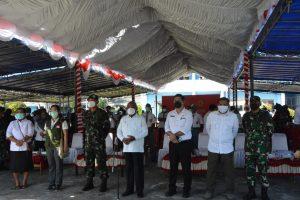 Kodam XVII/Cenderawasih Sukseskan Vaksinasi Untuk Pelajar di Wilayah Jayapura