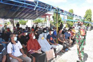 Kodam XVIII/Kasuari Perluas Wilayah Serbuan Vaksinasi di Papua Barat