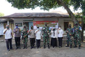 Danrem 162/WB Cek Kesiapan Ruang Isolasi Terpadu Masing-masing Desa di Mataram dan Lombok