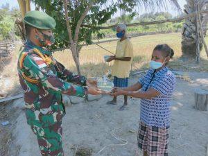 Batalyon Armed 6/3 Kostrad Selenggarakan Program Kostrad Peduli Terhadap Masyarakat Terdampak Covid-19